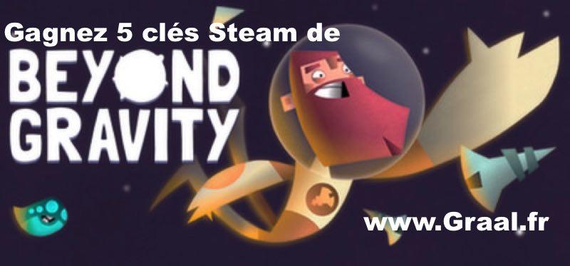 CONCOURS : Gagnez 5 clés Steam du jeu Beyond Gravity