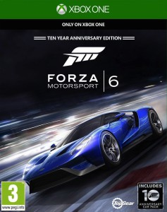 Forza Motorsport 6 - cover