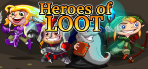 Heroes of Loot - logo