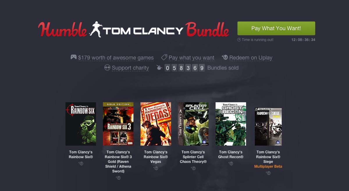 Humble Tom Clancy Bundle