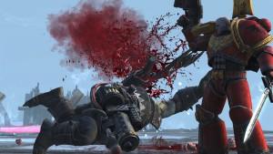Warhammer 40.000 - Regicide - éclatage de tête