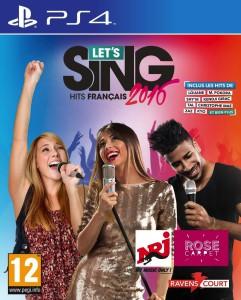 Let's Sing 2016 - Hits Français - cover