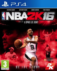 NBA 2K16 - cover