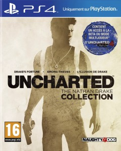 Uncharted - The Nathan Drake Collection - cover