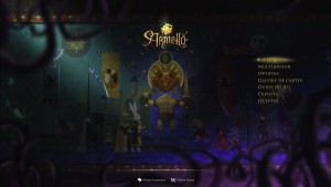 Armello - menu