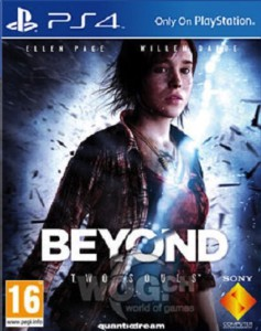 BEYOND Two Souls - cover ps4