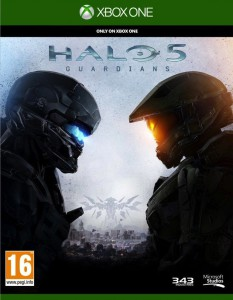 Halo 5 Guardians - cover