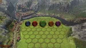 Rise Battle Lines - menu