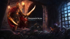 The Fall of the Dungeon Guardians - chargement
