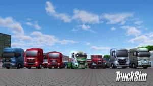 TruckSim - camions