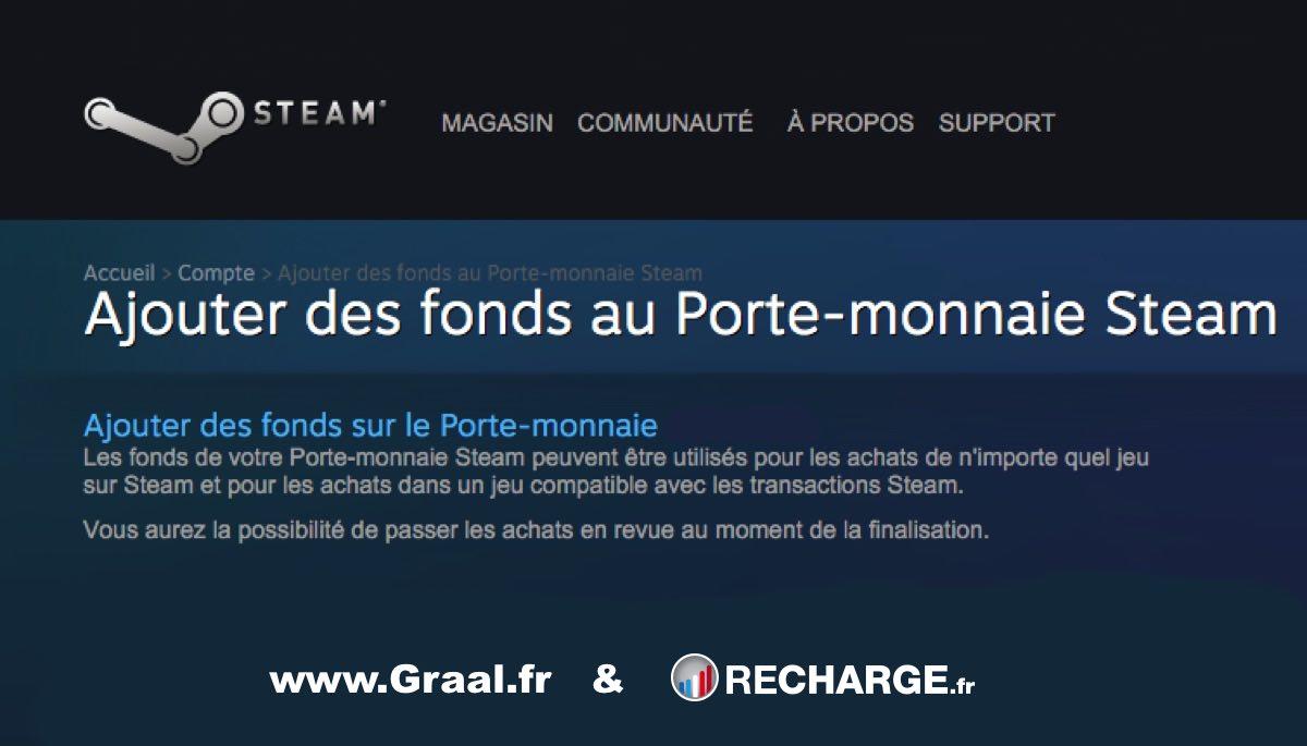 CONCOURS : Gagnez 5 recharges Steam de 20 euros