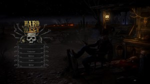Hard West - menu