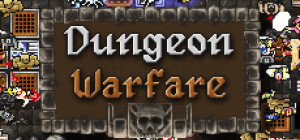 Dungeon Warfare - logo