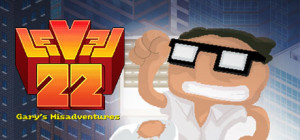 Level22 Gary's Misadventure - logo