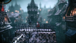 Woolfe - The Red Hood Diaries - sur les toits