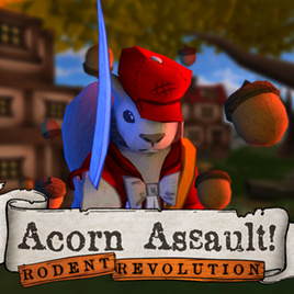 Acorn Assault Rodent Revolution - logo