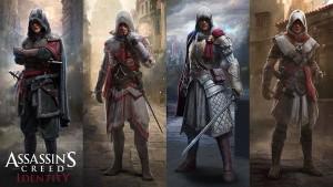 Assassin's Creed Identity - 4 classes
