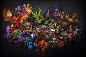 Dungeon Monsters - logo
