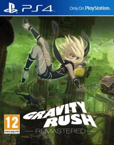 Gravity Rush Remastered - cover