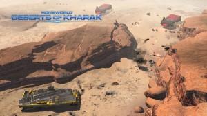 Homeworld - Deserts of Kharak - combat
