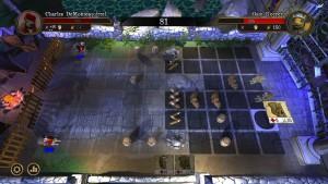 Acorn Assault - combat