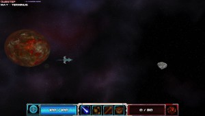 Asteroid Bounty Hunter - petit combat