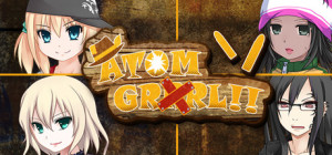 Atom GRRRL - logo