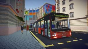 Bus Simulator 16 - bus rouge