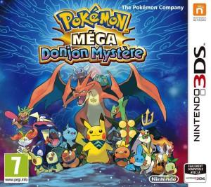 Pokémon Méga Donjon Mystère - cover