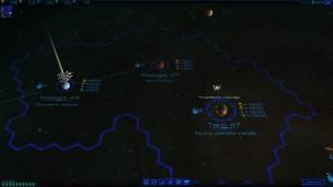 Sid Meier's Starships - carte