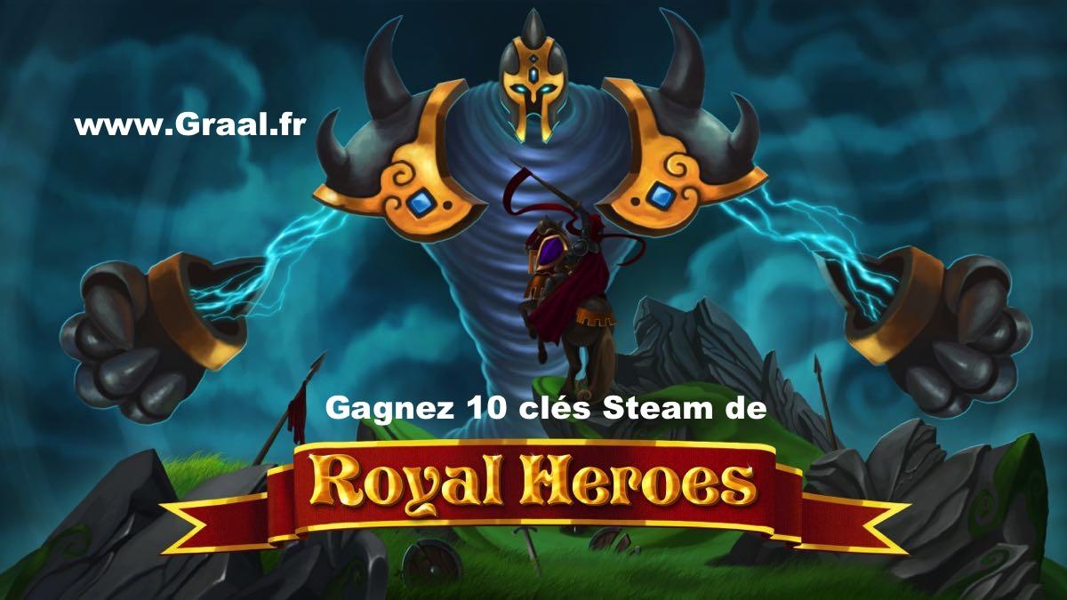 CONCOURS : Gagnez 10 clés Steam du jeu Royal Heroes