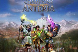 Champions of Anteria - logo