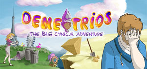 Demetrios - The BIG Cynical Adventure - logo