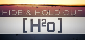 Hide & Hold Out - H2o - logo