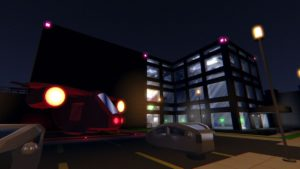 Neon Struct - bâtiment