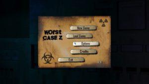 Worst Case Z - menu