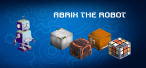 Abrix the robot - logo