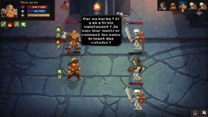 Dungeon Rushers - combat