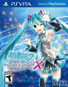 Hatsune Miku - Project DIVA X - cover