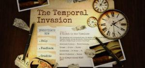 The Temporal Invasion - logo
