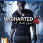 Uncharted 4 A Thief's End - cover