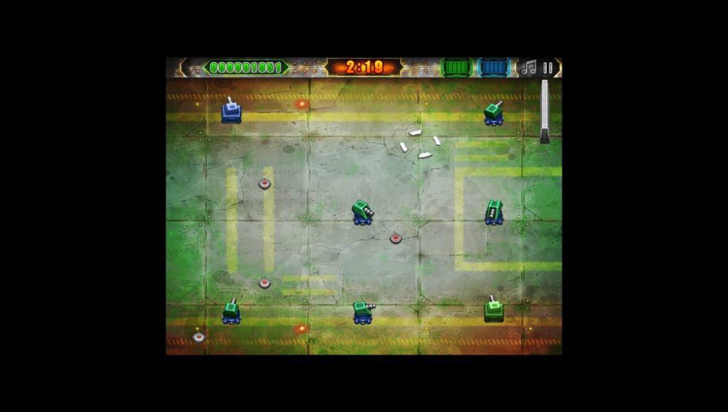 Battle Pixels - petit niveau