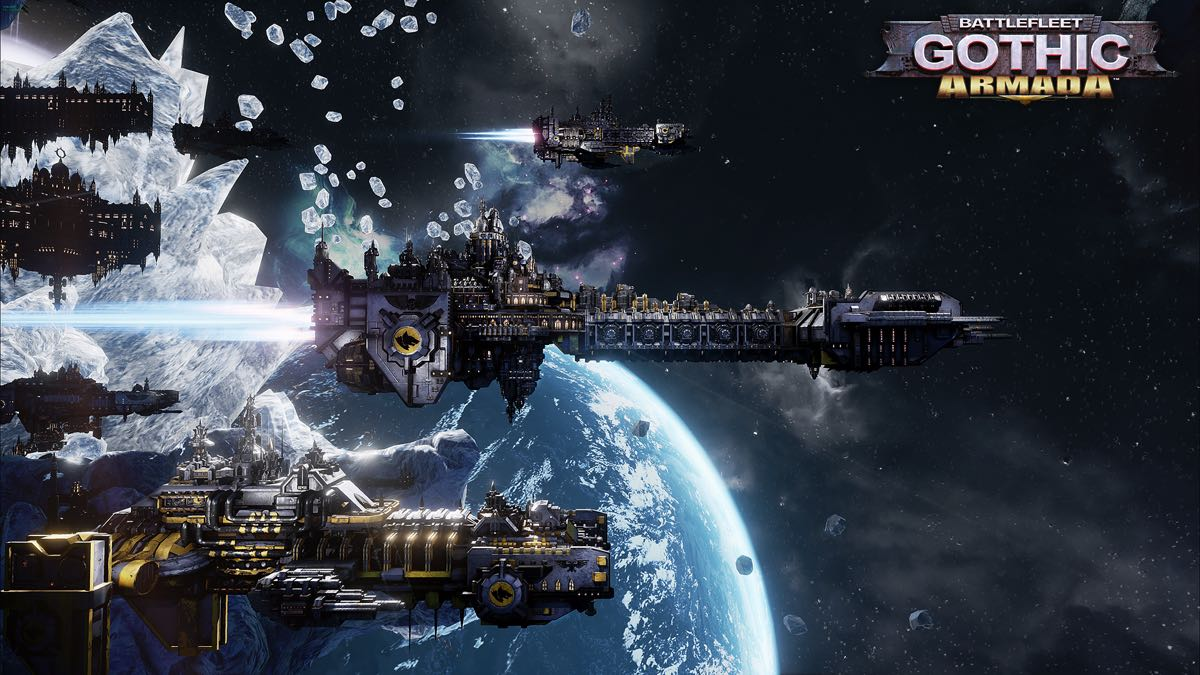 Battlefleet Gothic : Armada – The Space Marines