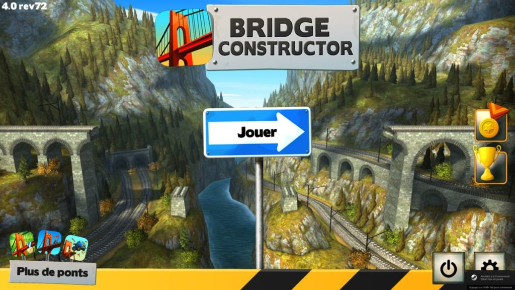 Bridge Constructor Trains