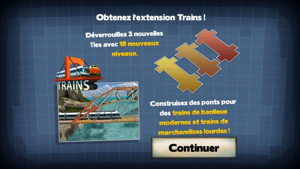 Bridge Constructor Trains - extension