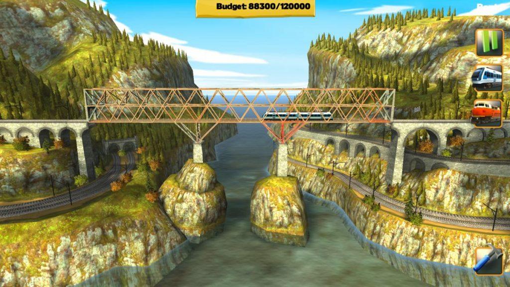 Bridge Constructor Trains - moins basique