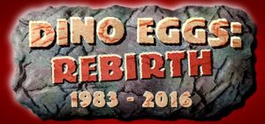 Dino Eggs - Rebirth - logo