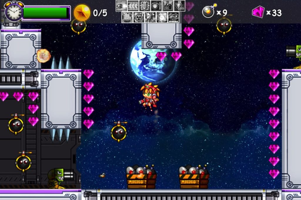 Dyna Bomb - niv espace