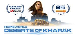 Homeworld Deserts of Kharak - logo 2