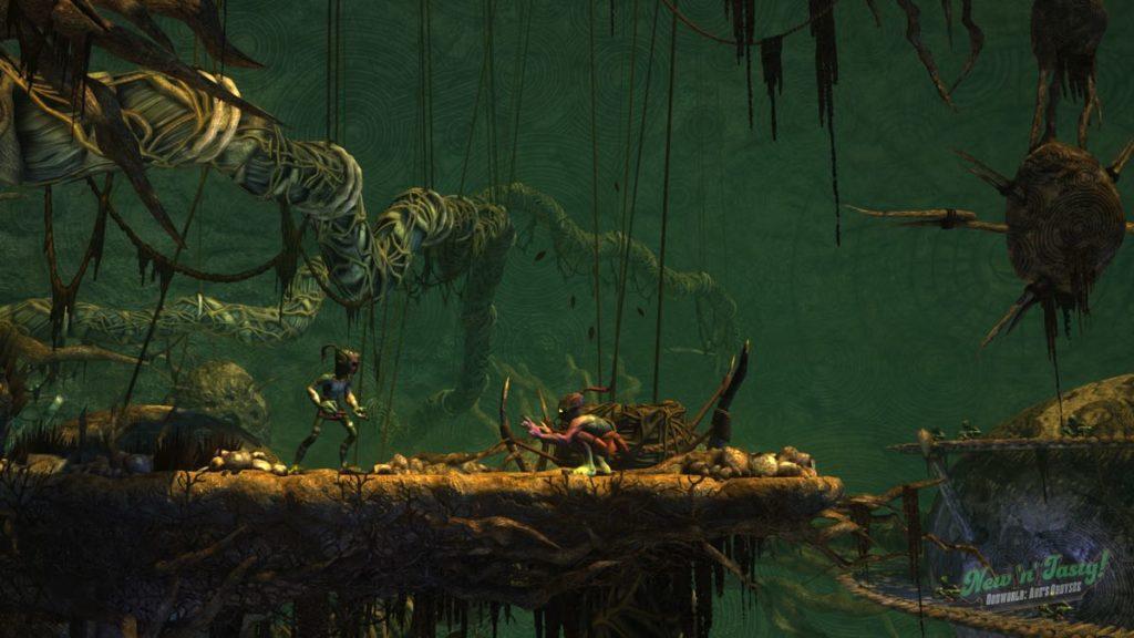Oddworld - jungle